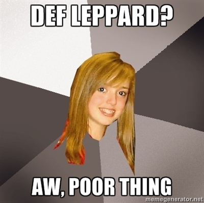 Def Leppard meme